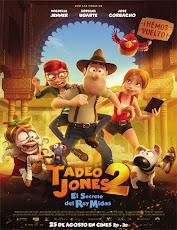 pelicula Tadeo Jones 2: El secreto del Rey Midas (2017)