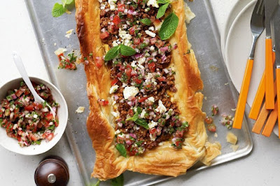 Makeover your weekly cooking repertoire with this flavour MIDDLE EASTERN LAMB TART RECIPE