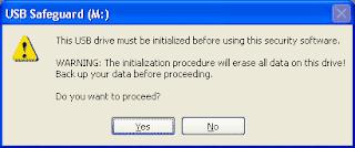 software mengunci flashdisk
