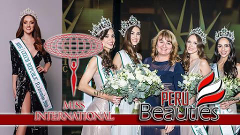 Andrea Prchalová es  Miss International Czech Republic 2019