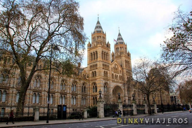 Museo de Historia Natural de Londres. Exterior