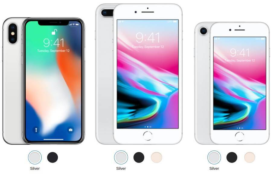 Apple Reveals Official Prices of iPhone 8, iPhone 8 Plus and iPhone X in PH