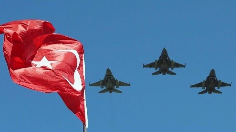 جسر-جوي-تركيا-وليبيا-سلاح-الجو-التركي-ينفذ-تدريبات-فوق-البحر-المتوسط