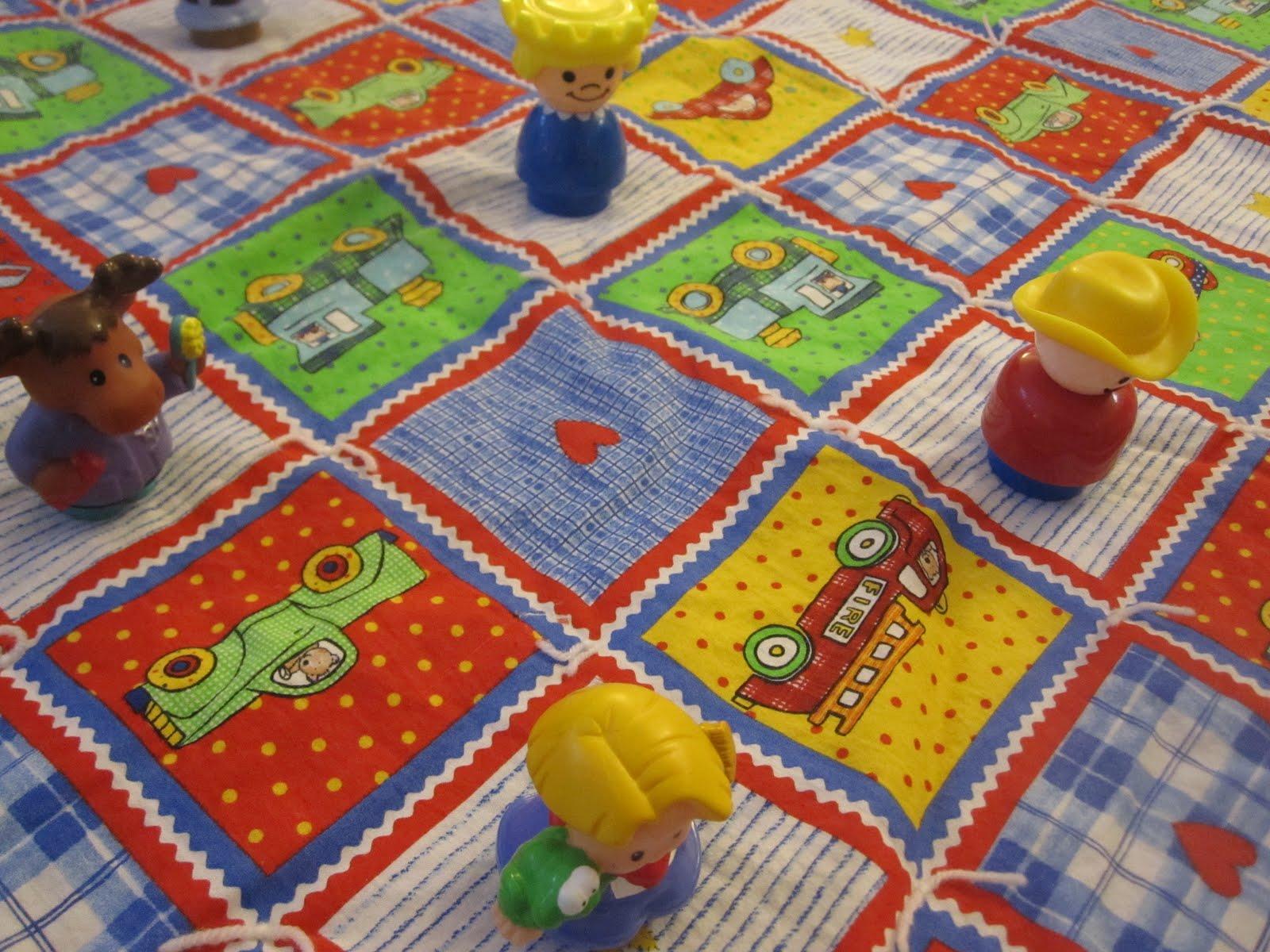 Toddler Approved Llama Llama Red Pajama Quilt Math