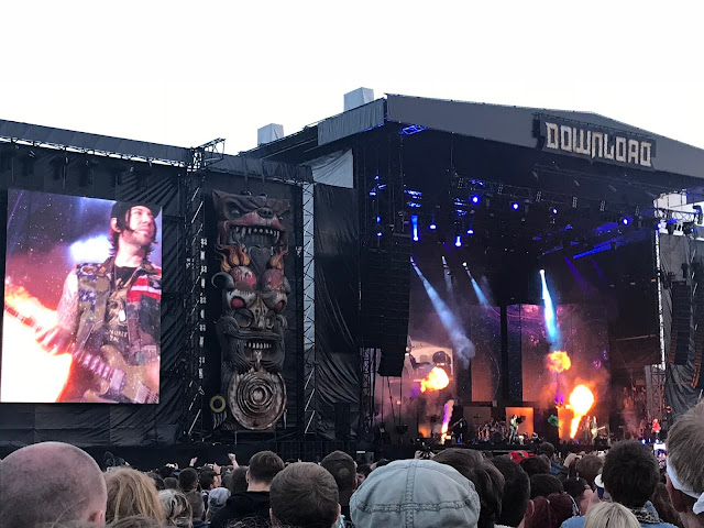 Avenged Sevenfold at Download UK 2018