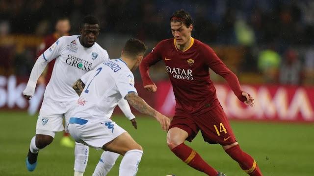 Hasil Liga Italia: Roma Susah Payah Kalahkan Empoli