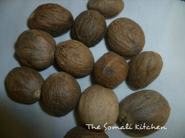 Nutmeg ( Joss in somali language ).