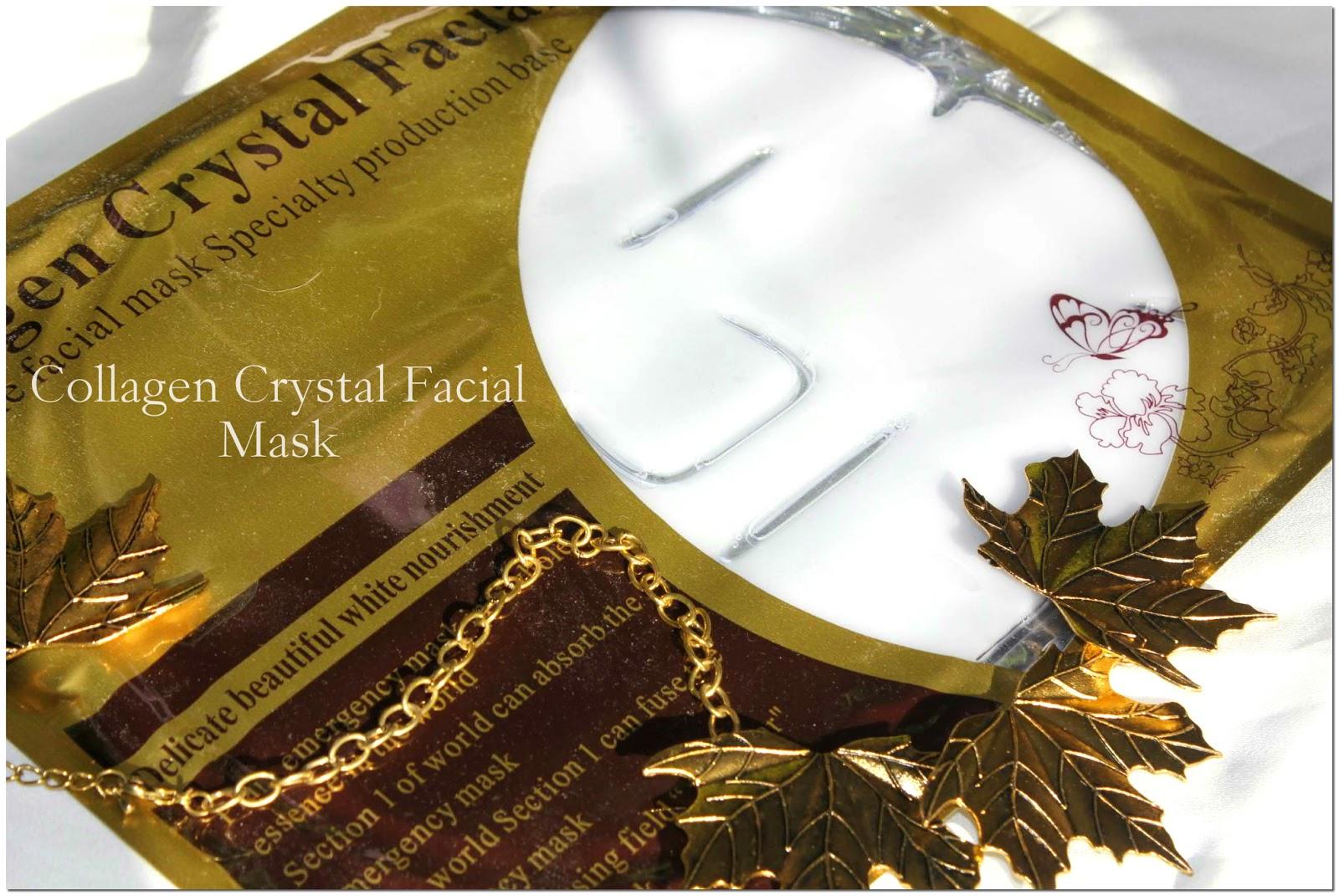 Отзыв: Маска для лица «Кристальный коллаген» с витаминами и протеинами, белая - Collagen Crystal Facial Mask.