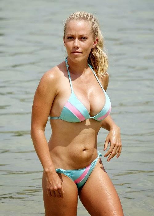 Blue bikini kendra wore