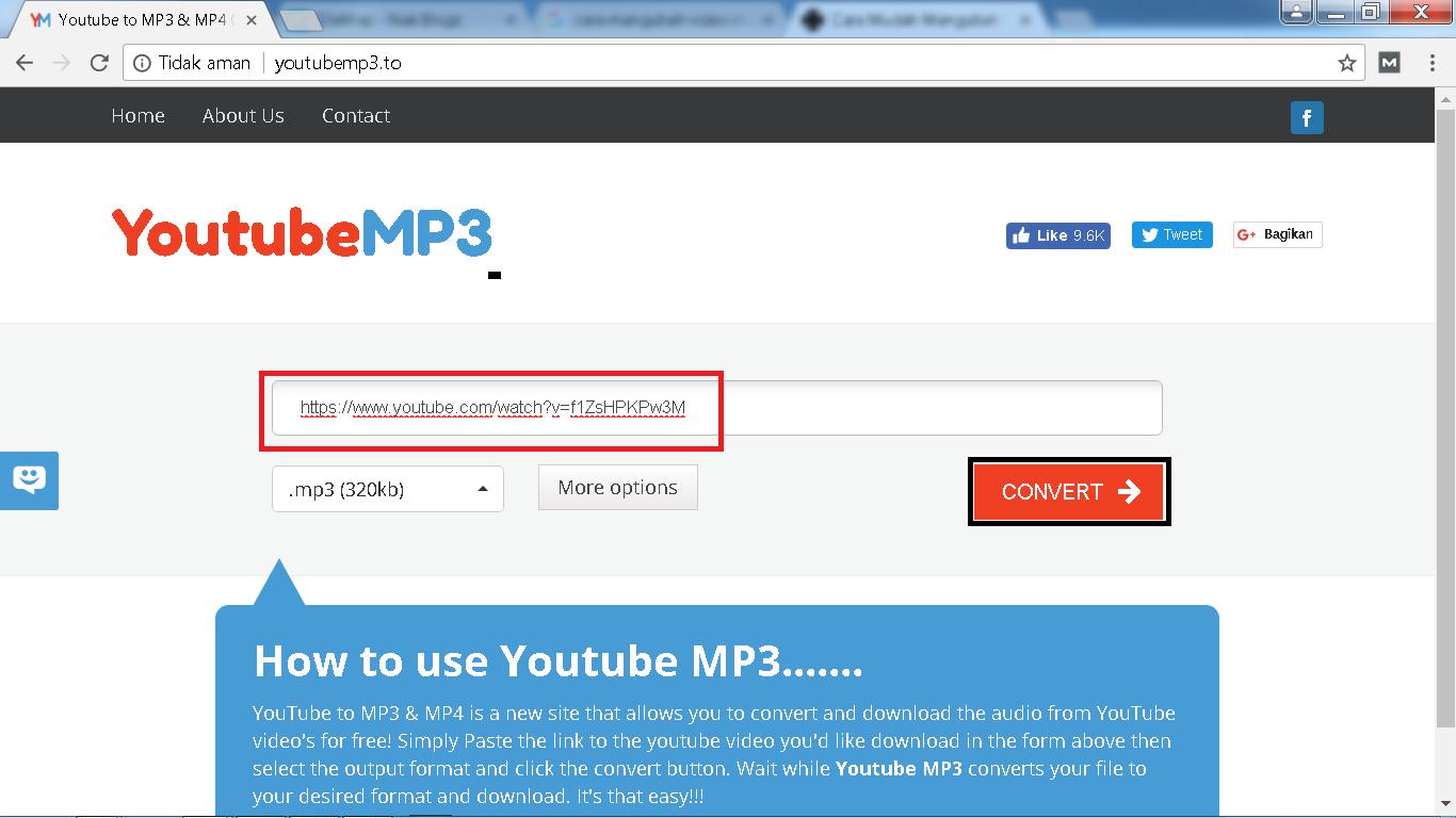 Cara Mengubah Video MP4 Menjadi MP3 Tanpa Software - Nak Blogz - photo#34