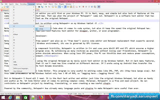 Notepad is the some basic text editor y'all volition detect on your Windows PC Foneboy Notepad++ Windows Software Download too Review