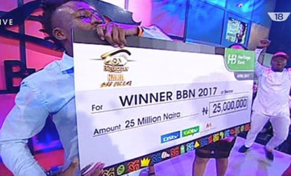 BBNAIJA winner-EFE