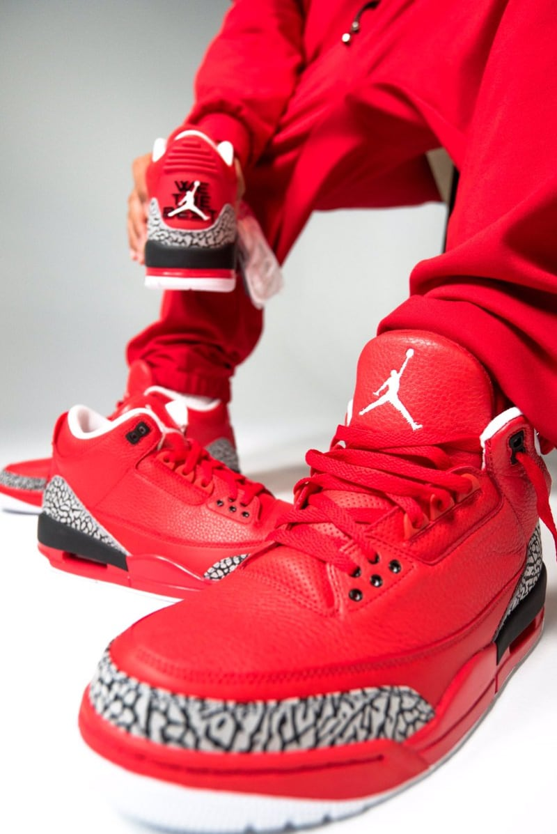 70492660a2b DJ Khaled s Air Jordan 3  Grateful