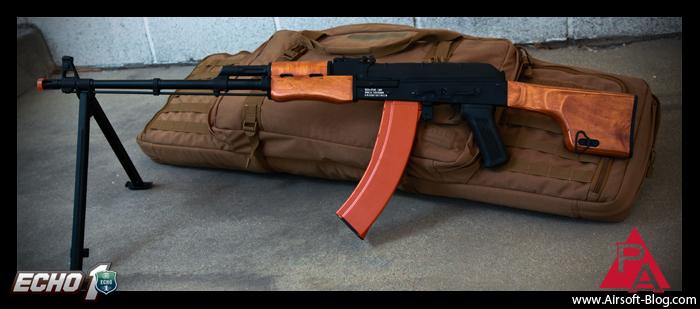 Echo1 RedStar LMG, Airsoft RPK, Airsoft AEG, 5.11 Tactical Rifle Bag, Brian Holt, Pyramyd Airsoft Blog, Tom Harris Media, Tominator,