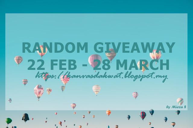 Senarai Pemanang Random Giveaway Mieza S