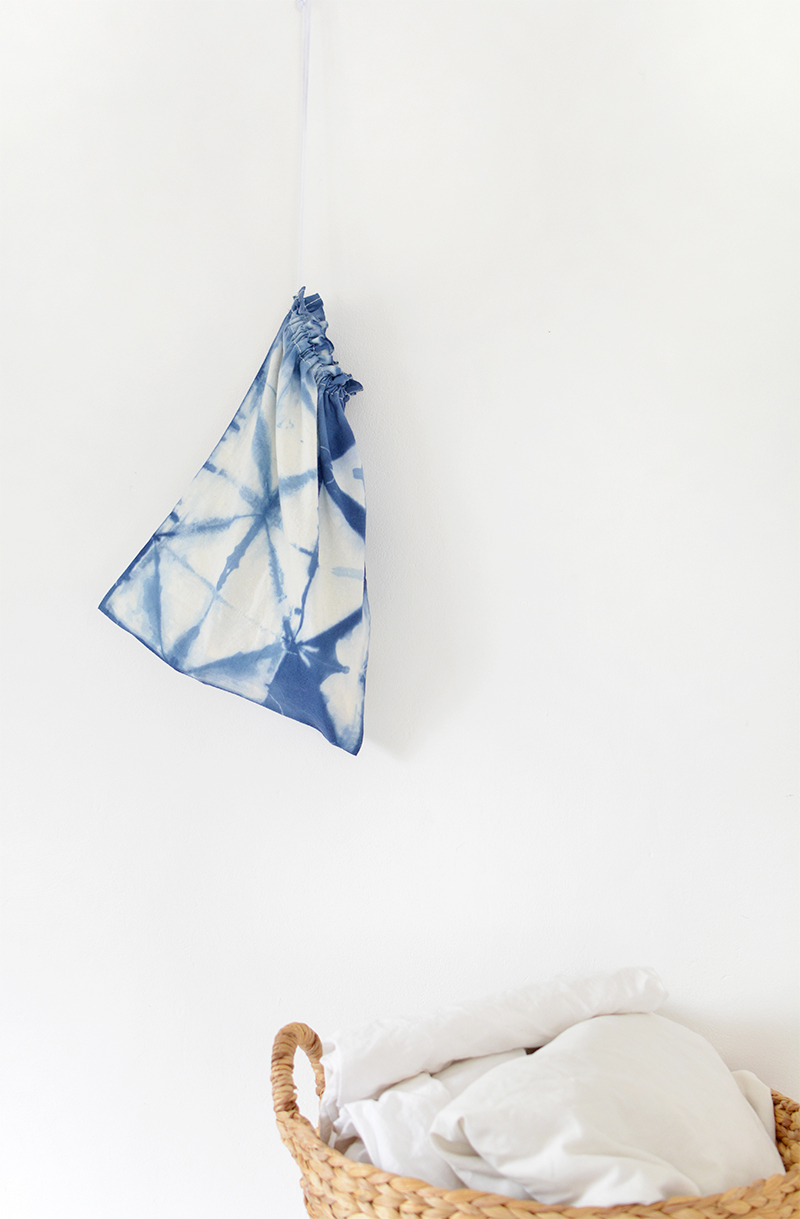 easy shibori craft project