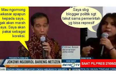 Janji Jokowi kepada Netizen: Saya Tidak Marah Dikritik Sekasar Apapun