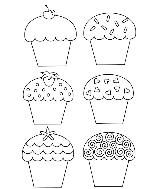 Download Coloring Pages Cupcake Coloring Page Cupcake Coloring Page   Coloringpagefree Images Cupcake Coloring
