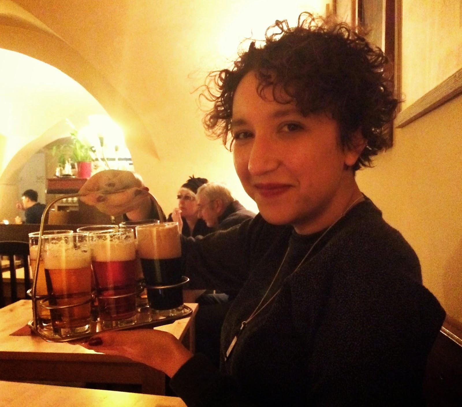 beer taster tray