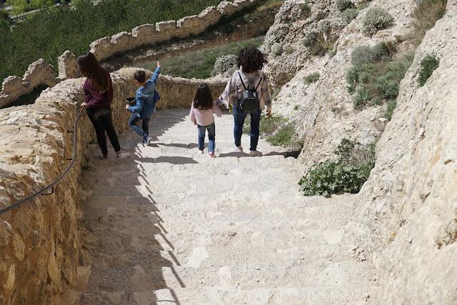 castillo Morella niños