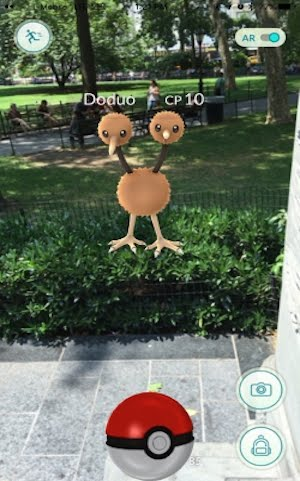 تحميل وشرح اللعبة التي سببت الضجة في انحاء العالم لعبة بوكيمون جو - Pokemon Go augmented reality game
