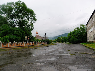 Чинадиево. Улица Августина Волошина