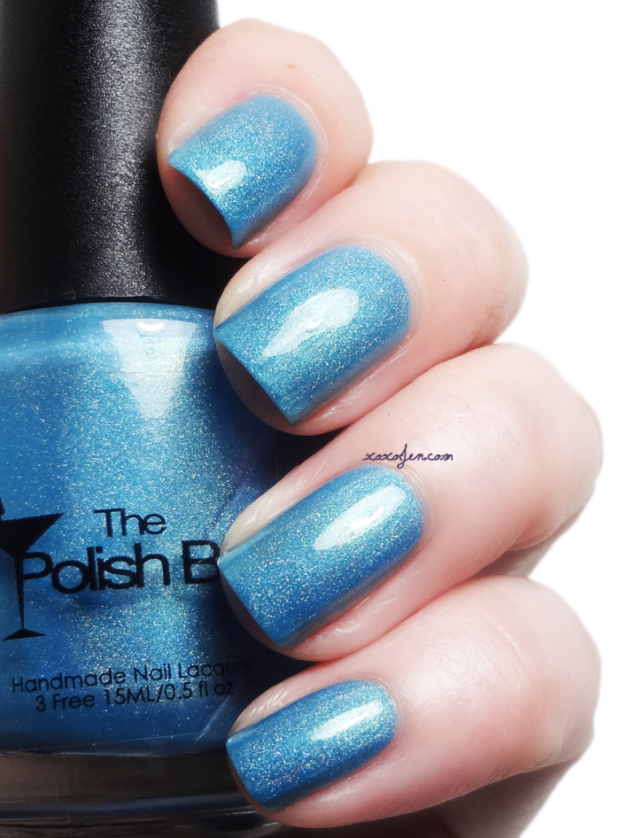 xoxoJen's swatch of The Polish Bar Surf Blue