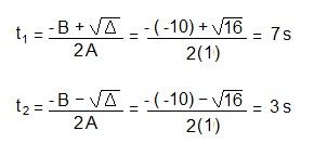 resolvendo a equação