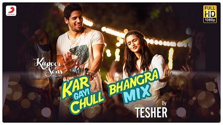 Kar Gayi Chull Bhangra Mix Sidharth Alia Fawad Badshah Amaal Fazilpuria Tesher