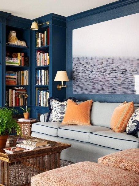 lisa mende design best navy blue paint colors 8 of my favs. Black Bedroom Furniture Sets. Home Design Ideas