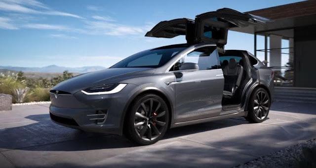 Tesla Model X SUV Dengan Nilai Keamanan Sempurna