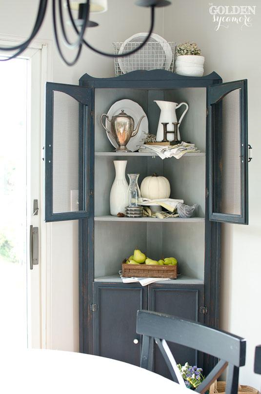 vintage dining room cabinet