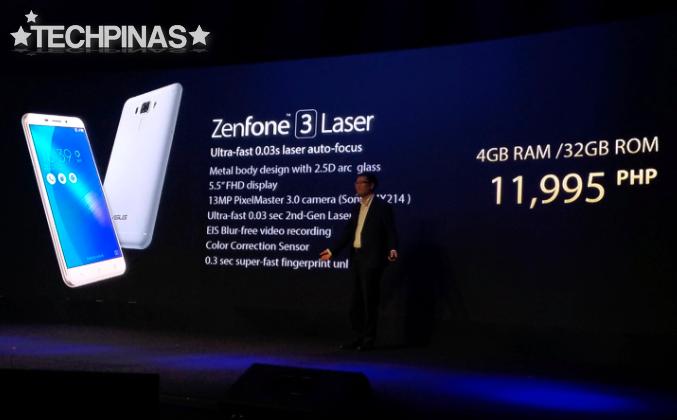 Asus ZenFone 3 Laser Price Philippines