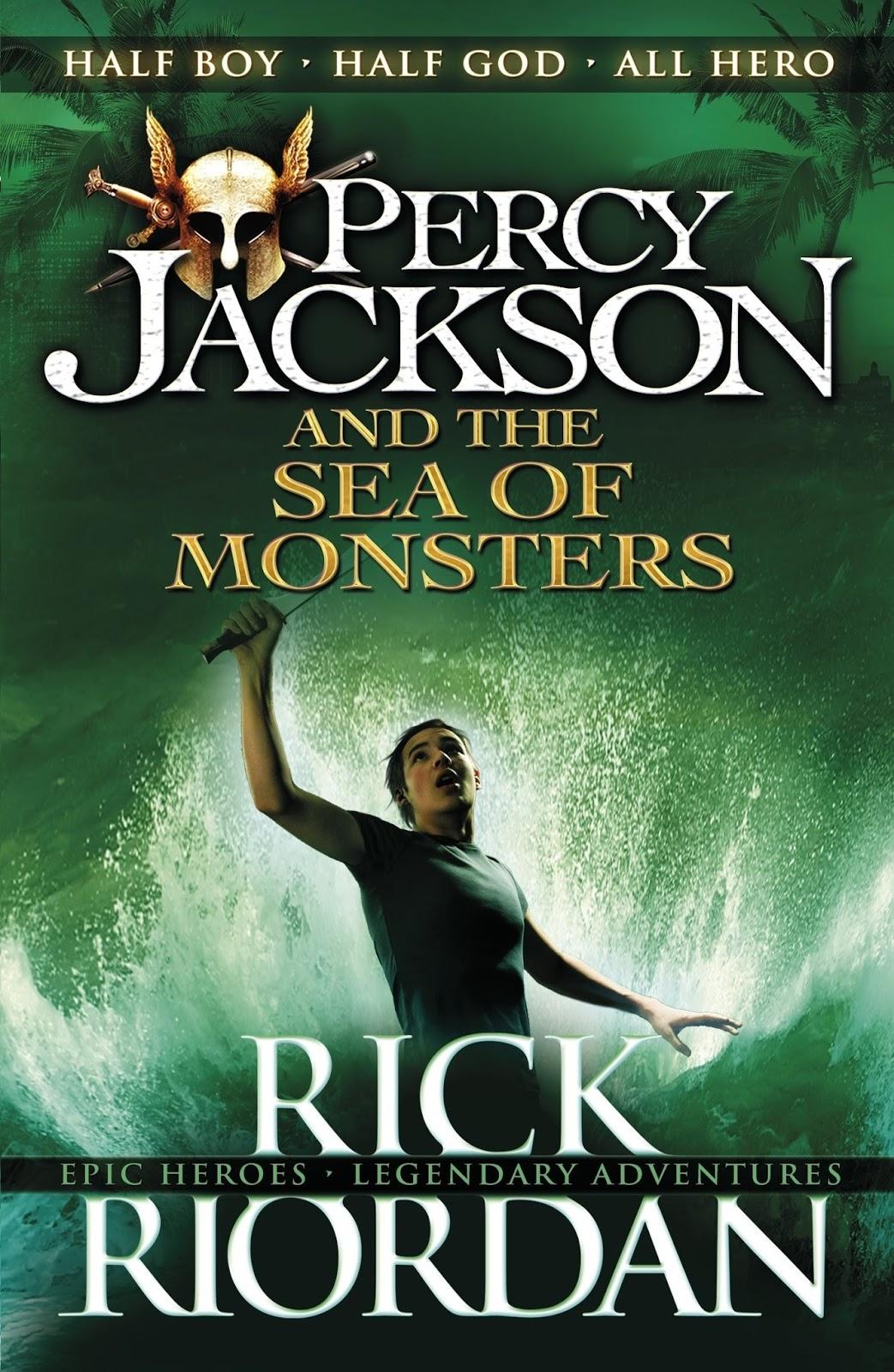 Les Lectures D Alice La Mer Des Monstres Percy Jackson