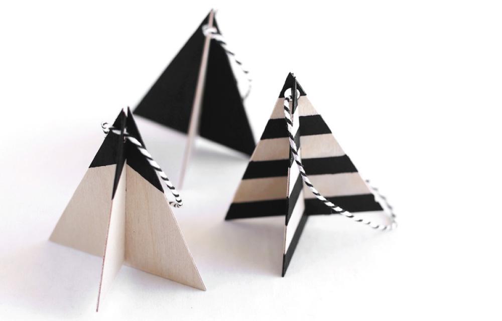 Decorazioni In Legno Per Albero Di Natale : Decori in legno fai da te per lalbero di natale dettagli home decor