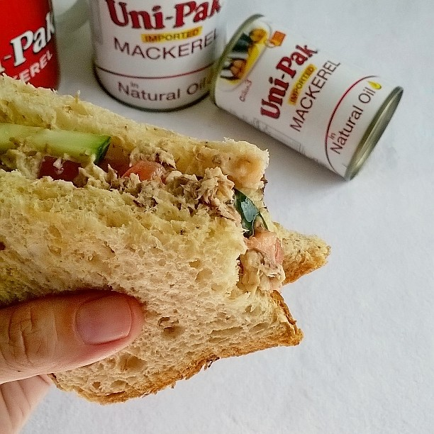 uni-pak, mackerel, fish, canned fish, delicious, healthy, sandwich, recipe