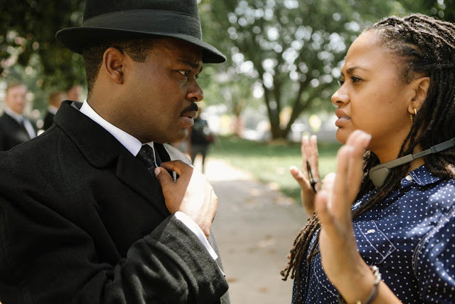 Ava DuVernay directs David Oyelowo to not talk so slowly like Martin Luther King did on The Boondocks.