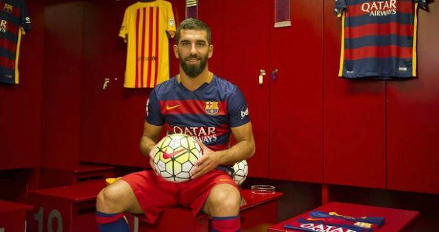 El Barça ya explota la imagen de Arda Turan