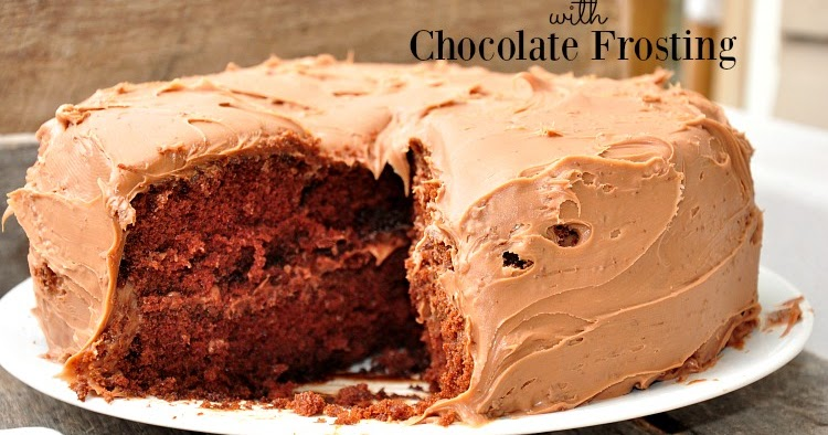 Recipe Chocolate Buttermilk Cake With Chocolate Frosting