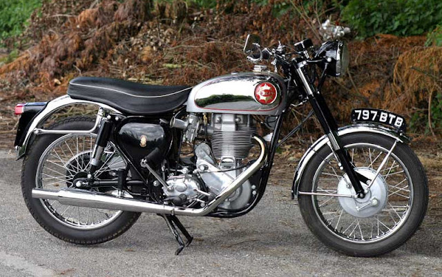 BSA gold star motorcycle pictures gallery