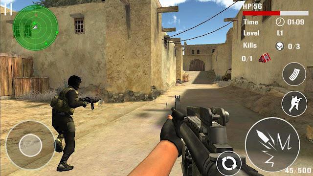 تحميل لعبة اطلاق نار للموبايل الاندرويد والكمبيوتر برابط مباشر apk مجانا Download Shooting Game