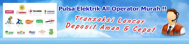Rizqi Pulsa, Server Pulsa Murah All Operator Tangerang