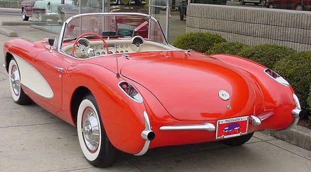 Hot Classic Cars  1957 Corvette