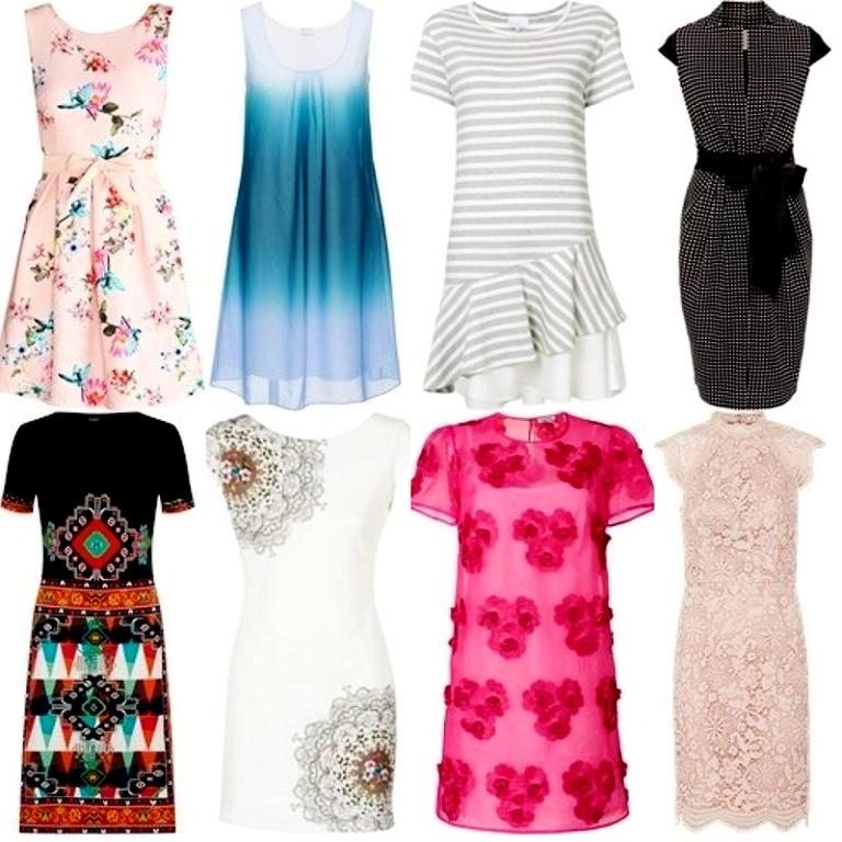 Sukienkowe inspiracje Domodi - lista chciejstw!