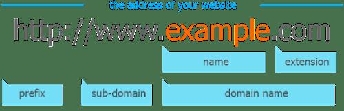 memilih nama domain untuk website