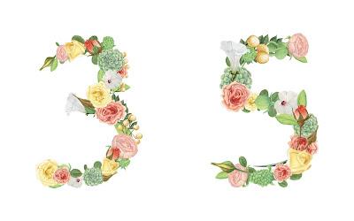 A floral number 35