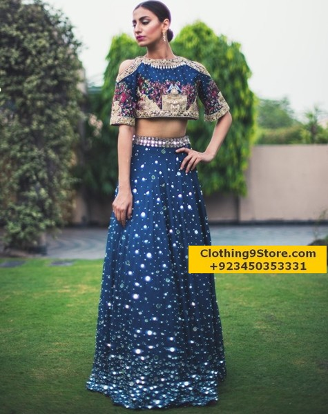 online party dress shopping in pakistan
