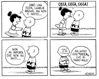 Charlie Brown Frasi Celebri