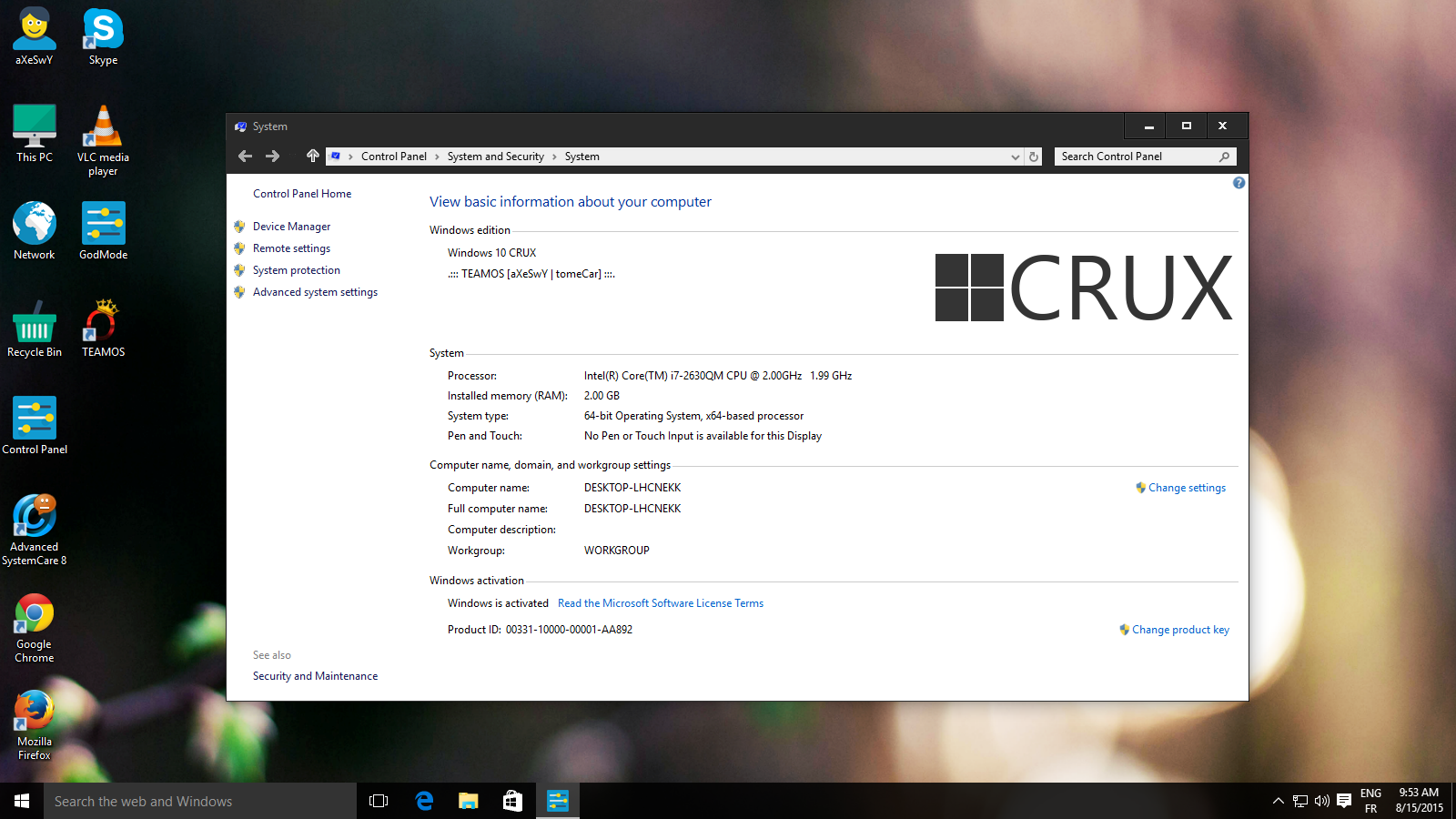 windows-10-crux-edition-x64-bit Actated ISO ลิงค์เดียว แรง ...