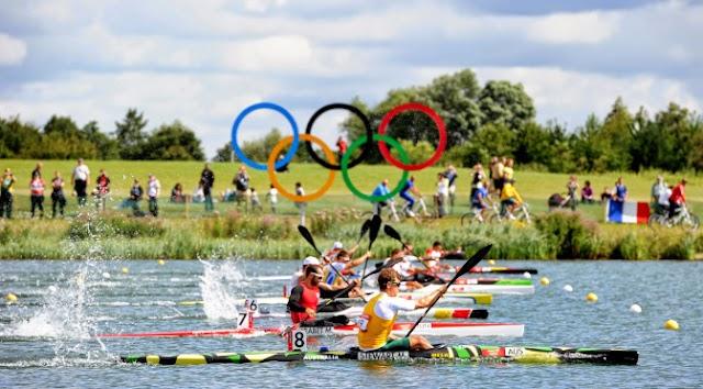 Aquecimento Olímpico: Canoagem